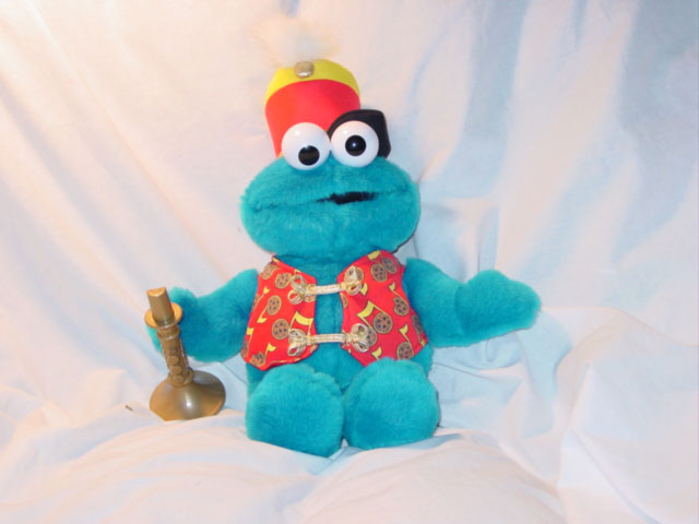 Fisher Price Trumpet Playing Cookie Monster Model # 39732