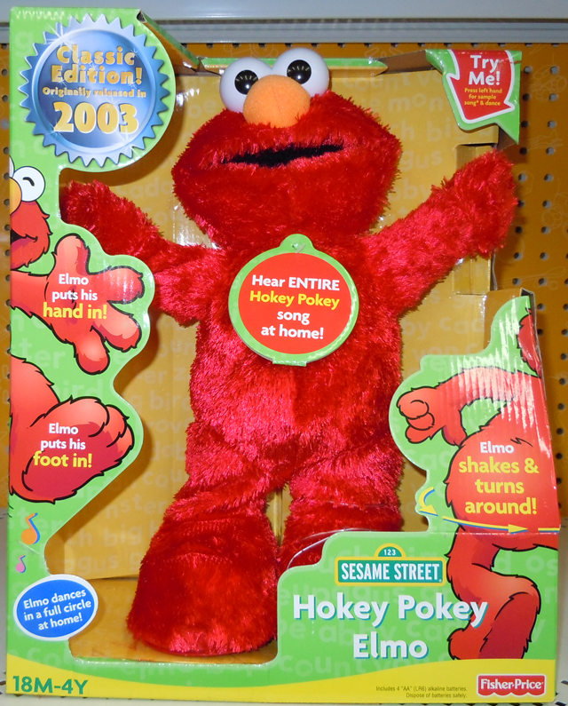 Fisher-Price In Box Pic of the Re-Release of Hokey Pokey Elmo