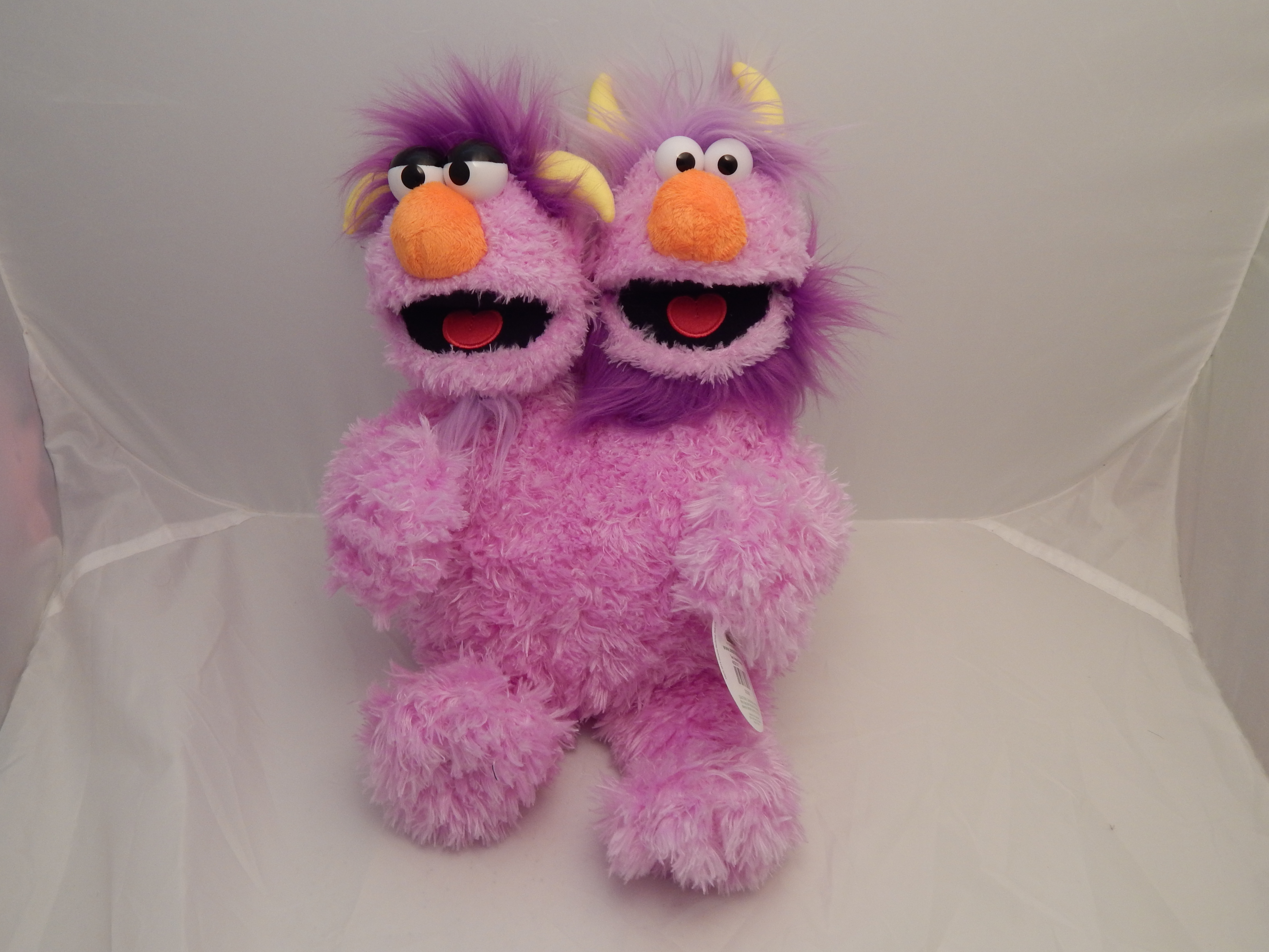 Sesame Place - Two Headed Monster